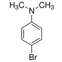 N,N-二甲基对溴苯胺 分子结构式